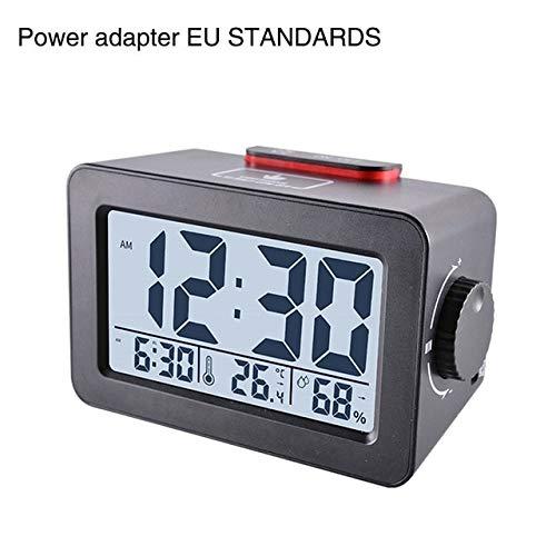 Despertador Función De Repetición con Termómetro Higrómetro ...