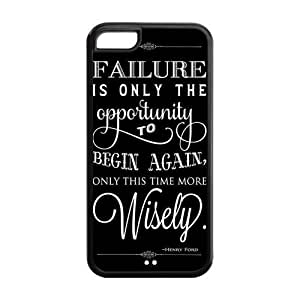 MMZ DIY PHONE CASE5C Phone Cases, Wisdom Hard TPU Rubber Cover Case for ipod touch 5