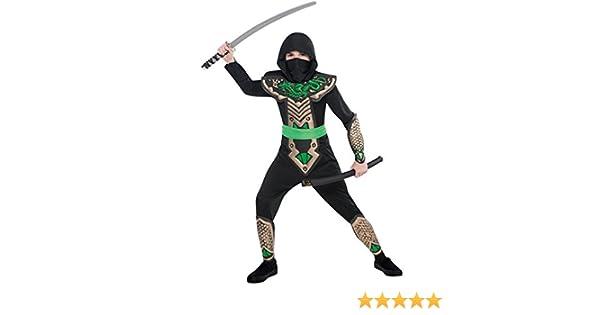Christy`s - Disfraz de dragón ninja para niño, talla 8-10 años (997024)