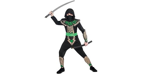 Amazon.com: Children Dragon Slayer Ninja Costume - Age 8-10 ...