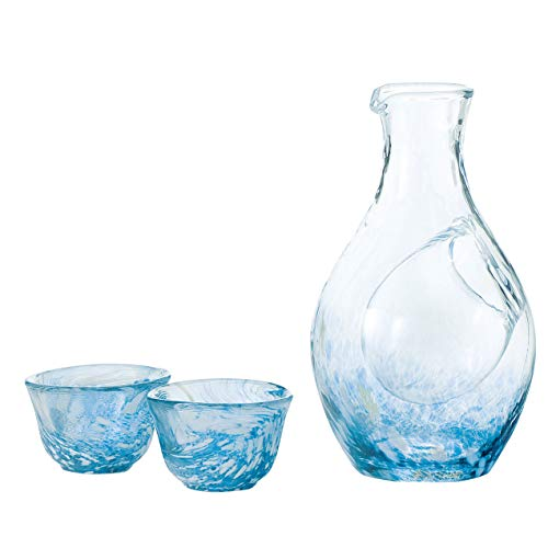 Liquor glass collection cold sake set G604-M70 (japan import) by Toyo sasaki glass