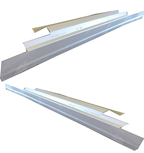 Motor City Sheet Metal - Works With 2004-2010 Ford F-150 Pickup 4 DOOR Extended Cab Outer Rocker Panels Pair