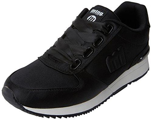 MTNG Stela, Zapatillas de Deporte para Mujer Negro (Raspe Negro)