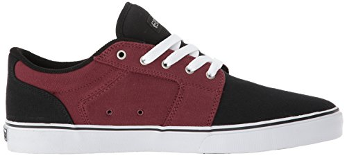 Skate Shoe Etnies Burgundy LS White Barge Black q4x1q08p6n