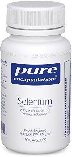 Pure Encapsulations – Selenium 200ug – Organic Selenomethionine Supplement for Immune and Thyroid Function Support – 60…
