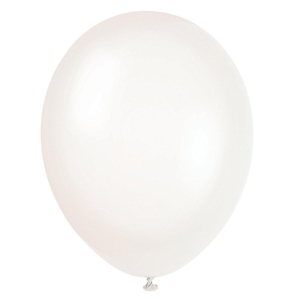 Conjunto de 50 unidaddes de sencillos globos transparentes para fiestas.