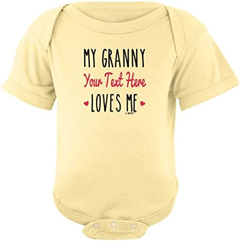 newborn baby Grandmother loves me to the moon baby bodysuit baby shower grandmother baby gift christmas gift for baby newborn gift