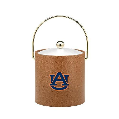 Kraftware Collegiate NCAA Auburn Tigers Basketball Texture Ice Bucket, 3-Quart