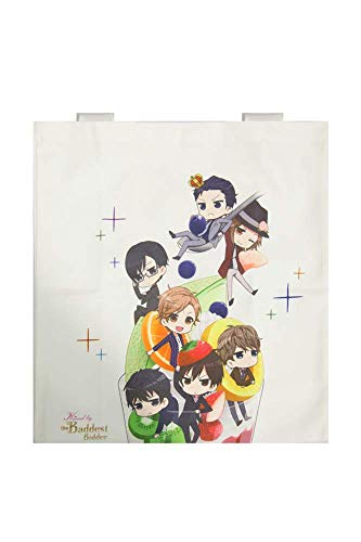 Kissed by the Baddest Bidder Chibi Parfait Canvas Totebag
