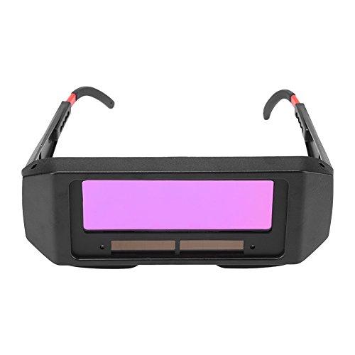 Solar Auto Darkening Welding Goggles, Safety TIG MIG MMA Welding Goggles Welder Eyes Glasses