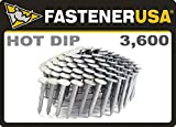 """1 1/4"""" Smooth A153-D HOT DIP Coil Roofing Nails"""