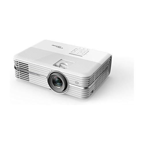 chollos oferta descuentos barato OPTOMA TECHNOLOGY UHD40 Proyector 4K Home Cinema Ultra HD 2400 lúmenes 500000 1 contraste formato 16 9 Blanco