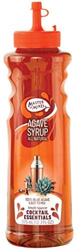 Master of Mixes Cocktail Essentials Agave Nectar, 375 ML Bottle (12.7 Fl Oz), Individually Boxed