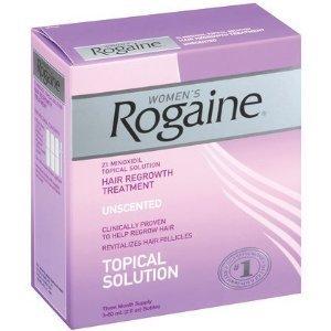 Force régulière Rogaine pour les femmes pack triple