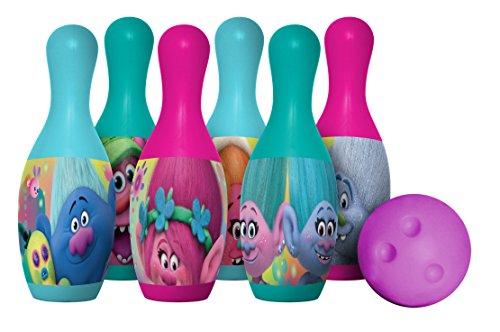 Hedstrom Dreamworks Trolls Plastic Bowling