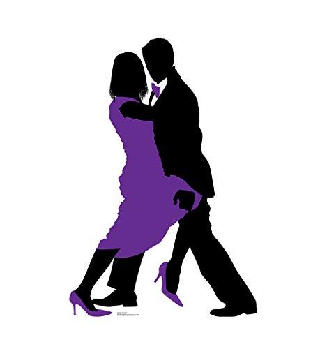 Ballroom Dancers Silhouette - Advanced Graphics Life Size Cardboard Standup by Advanced Graphics (Image #1)