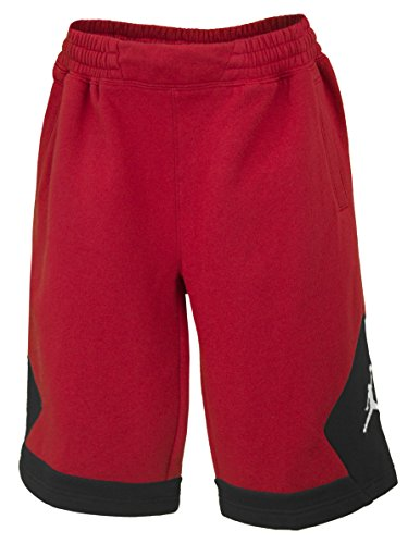 (Nike Boys Jordan Varsity Shorts - Gym Red (Large))