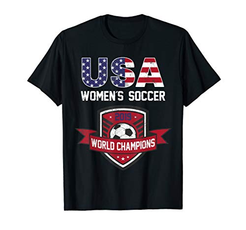 USA World Champions 2019 Tee United States 2019 Soccer Gift - United T-shirt States Soccer