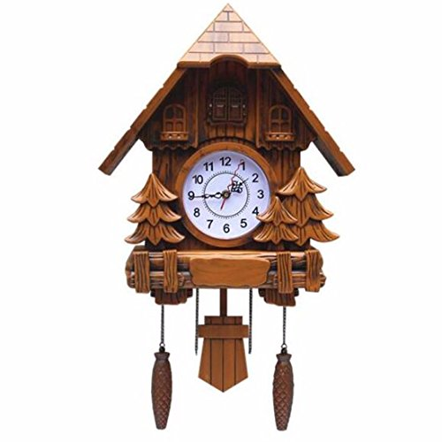 Imoerjia European Style Wall Clock Creative Wall Clock Music to Countryside, Whole Point Living Room
