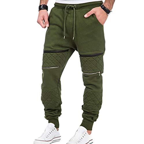 Air Casual Simple Sport Survêtement Coupe En Slim Chunky Fit Grün Joggers Style De Pantalons Pantalon Plein Droite Crystallly Base q1vaE