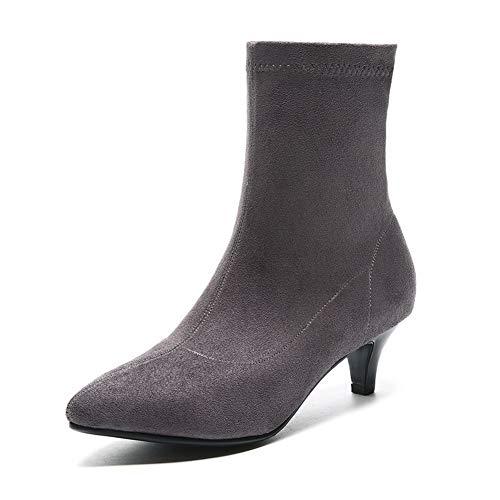 1to9 Gris Mnh03747 Mujer Con Sandalias Cuña rrwSRq