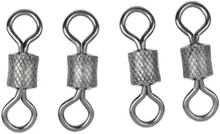 SM SunniMix 3 Vissen Swivel Links Flexibele Rotatie Eenheden Gemakkelijke Verrichting Roestvrij staal Accessoires