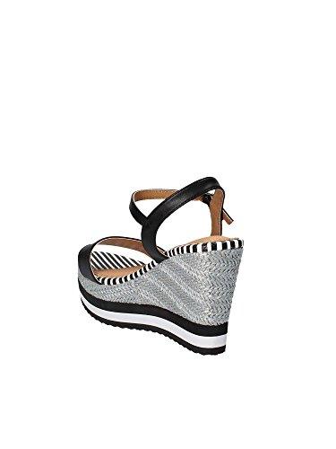 Gold A18 JB808 Wedge Sandals Women Black Mll4g50X