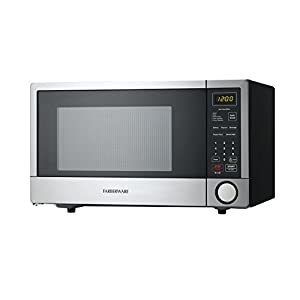 Farberware FMO11HBTBKI 1.1 Cubic Foot 1000 Watt Microwave Oven with Crs Technology, Stainless Steel