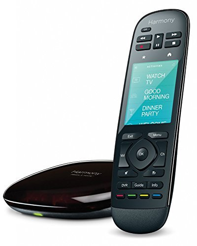 Logitech 915-000237 – Harmony Ultimate Home Touch Screen Remote – Black (Renewed)