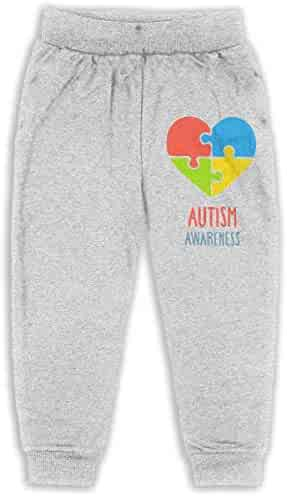 Keep Calm Im an Autism Mom Kids /& Toddler Pants Soft Cozy Baby Boy Jogger Play Pant