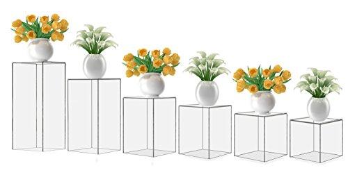 Marketing Holders Acrylic Display Cube Pedestal Art Sculp...