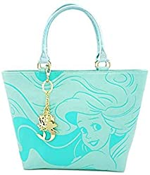 00dc77edb Loungefly Women's Disney The Little Mermaid Faux Leather Saffiano Tote Bag