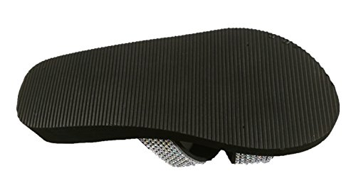 Playa Siebi's Extra Zapatillas Plataforma con Sandalias Negro Y Baño Zapatos de Nizza Ligero qfFrtxfU
