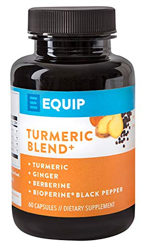 Turmeric Curcumin Bioperine Capsules Supplement: All Natural Pills w Ginger & Black Pepper Extract for Best Absorption. 95% Curcuminoids. High Potency Turmeric Supplements. Supports Joint Health