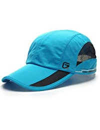 GADIEMENSS Quick Dry Sports Cap Lightweight Breathable Soft and Comfortable (8 color, 55-62cm)
