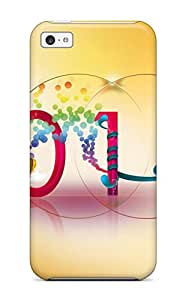 Iphone 5c Welcome New 2010 Year Tpu Silicone Gel Case Cover. Fits Iphone 5c