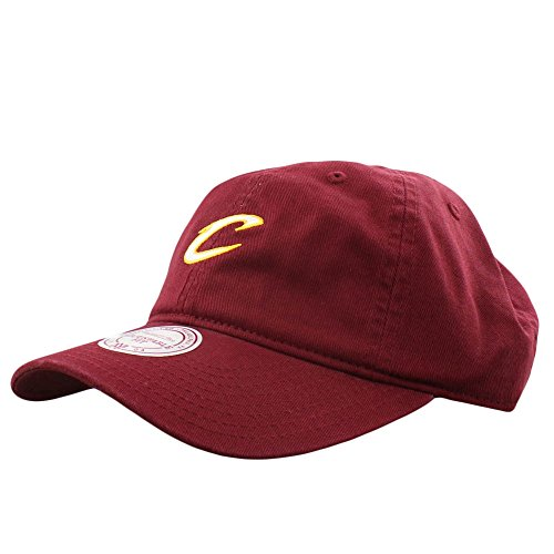 Mitchell   Ness Dad Hat Cleveland Cavaliers Burgundy - Buy Online in Oman.   af4f61281349