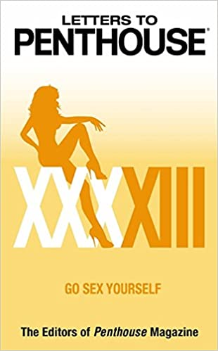 Amazon Buy Letters to Penthouse XXXXIII Go Yourself Book
