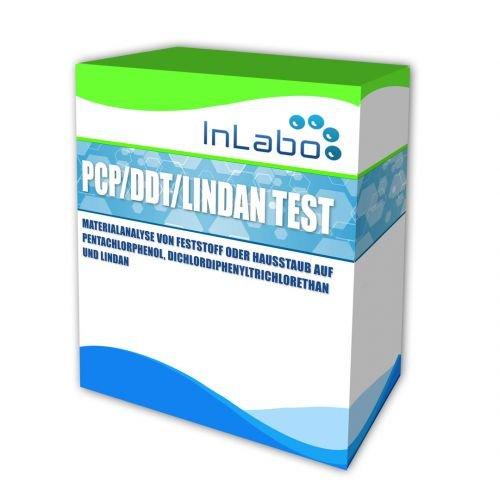 PCP + Lindan + DDT Holzschutzmittel Analyse von Hausstaub oder Feststoff