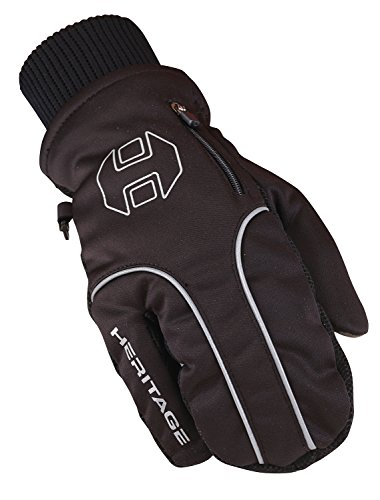 Heritage Arctic Winter Gloves, Size 8, Black