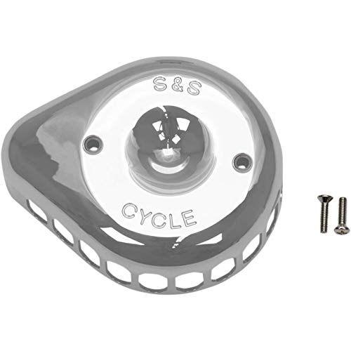 - S&S Cycle Mini Teardrop Air Cleaner Cover Black 170-0366