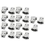 uxcell 19 Pcs D-Sub DB9 9Pin Connector Plastic Hood Cover Housing Shell Gray