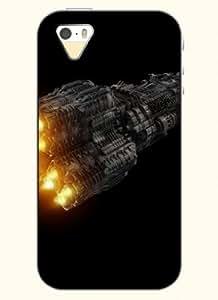 SevenArc Phone Case Design with Rocket for Apple iPhone 5 5s 5g