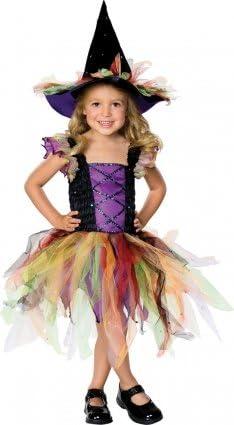 Children - Disfraz de bruja para niña, talla 5-7 años: Amazon.es ...