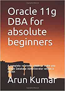 Best book for oracle dba for beginners
