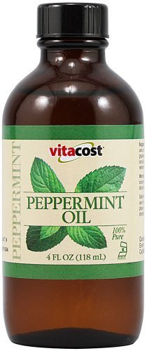 Vitacost 100% Pure Peppermint Oil -- 4 fl oz (118 mL) by Vitacost Brand