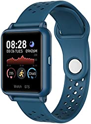 Relógio Inteligente Para Telefones Android Compatível com IPhone Samsung Relógio Esportivo Rastreador de Fitne
