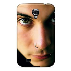 Anti-Scratch Hard Phone Cover For Samsung Galaxy S4 With Customized Fashion Frank Iero Pattern IanJoeyPatricia