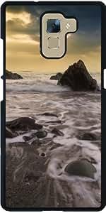 Funda para Huawei Honor 7 - Olas En La Puesta Del Sol by Being My Best