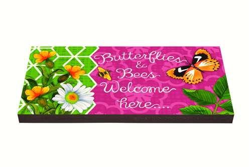 マグネットWorks & Ltd Butterlies & Butterlies BeesアートPaver BeesアートPaver B06XZP5HMC, WAOショップ:7d662c10 --- artmozg.com
